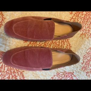 J. Crew Shoes - JCrew velvet convertible flat